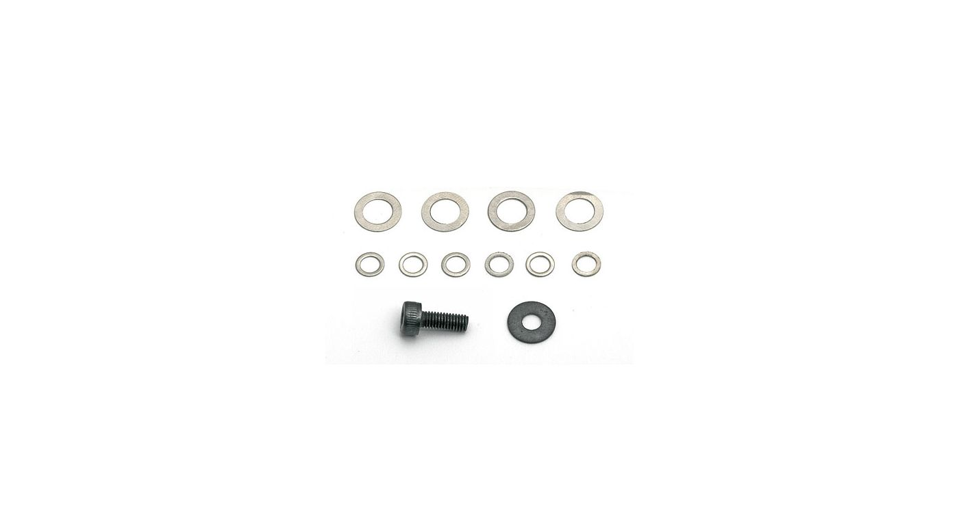 Image for Clutch Bell Shim Set: RC8 from HorizonHobby