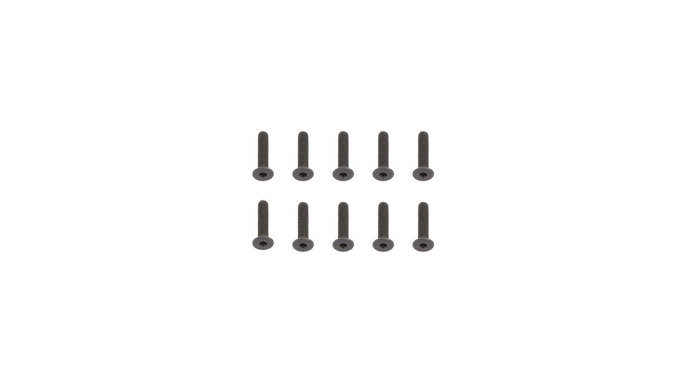 Image for 3 x 14mm FHC Screw (10) from HorizonHobby