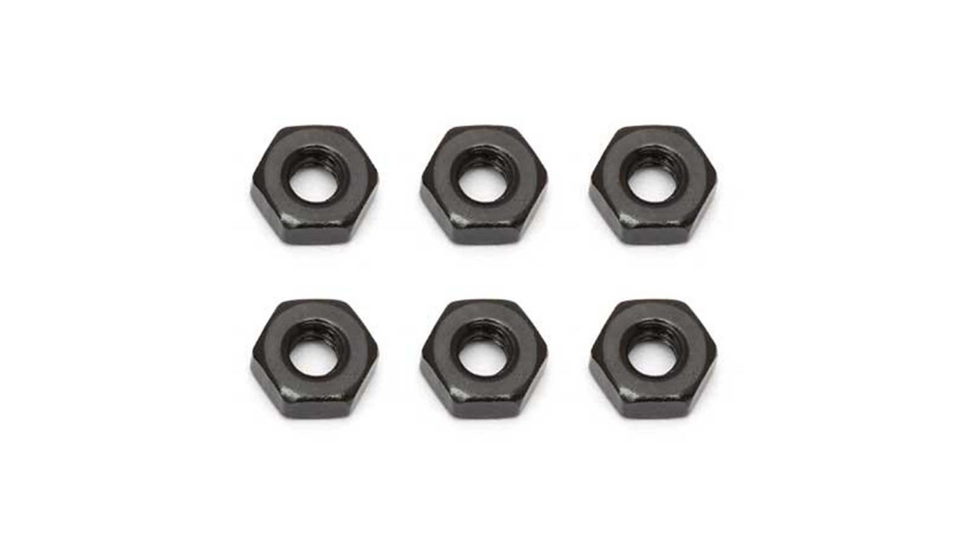 Image for Nuts M3, Black from HorizonHobby