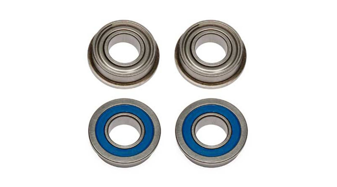 Image for Factory Team Bearings 8x16x5mm Flanged (4) from HorizonHobby