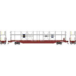Athearn 14474 N F89-F Bi-Level Auto Rack B&O #911923
