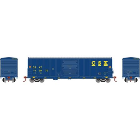 Athearn 15896 HO RTR 50' PS 5277 Box, CSX #142870 ATH15896