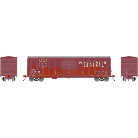 Athearn 15906 HO RTR 50' PS 5277 Box, WC #27648 ATH15906