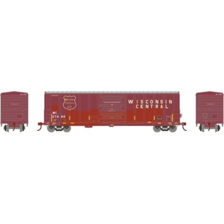 Athearn 15907 HO RTR 50' PS 5277 Box, WC #27660 ATH15907