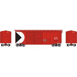 Athearn 16052 HO 40' Double Door Box E&N #292118