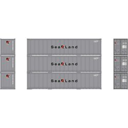 Athearn 17712 N 40' Smooth Side Container Sealand (3)