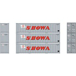 Athearn 17713 N 40' Smooth Side Container SHOWA (3)