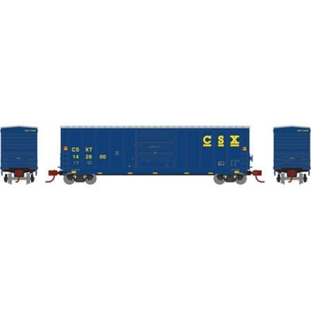Athearn 2057 N 50' PS 5277 Box, CSX #142800 ATH2057