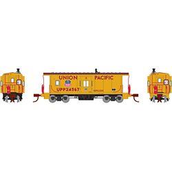 Athearn 23247 N Bay Window Caboose UP/Steam Train #24567