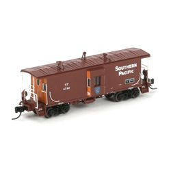 Athearn 23249 N Bay Window Caboose Southern Pacific/Police #4742