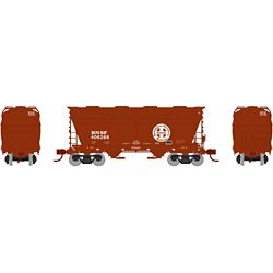 Athearn 23443 N ACF 2970 Covered Hopper BNSF/Brown #406266