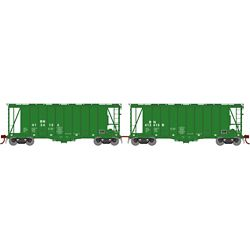 Athearn 23467 N GATC 2600 Airslide Hopper Burlington Northern BN Drawbar #1 (2)