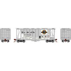 Athearn 23484 N GATC 2600 Airslide Hopper Denver & Rio Grande Western D&RGW #18184