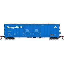 Athearn 67722 HO 50' Evans DD Plug Box USLX/Ga Pacific #11881