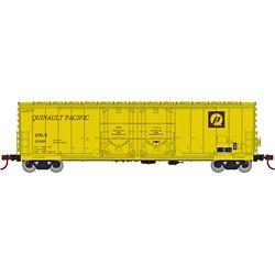 Athearn 67728 HO 50' Evans DD Plug Box USLX Q Pacific #10461