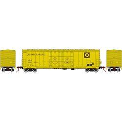 Athearn 67729 HO 50' Evans DD Plug Box USLX Q Pacific #10469