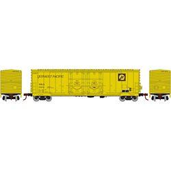 Athearn 67731 HO 50' Evans DD Plug Box USLX Q Pacific #10474