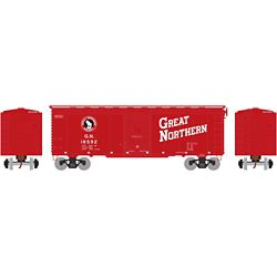 Athearn 73703 HO 40' Youngstown Door Box GN/Red #18592