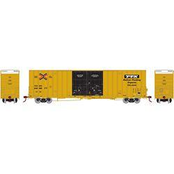 Athearn 75249 HO 60' Gunderson Box RBOX/TTX #660677