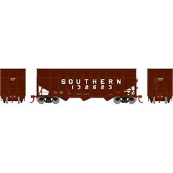 Athearn 76576 HO 40' Wood Chip Hopper w/Load Southern #132623