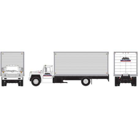 Athearn 96592 HO RTR Ford F-850 Box Van, Builders Emporium ATH96592