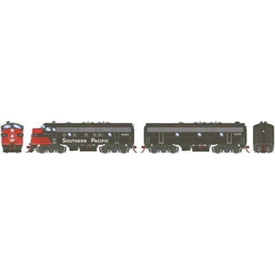 Athearn G12437 HO F7 A/B w/DCC & Sound Southern Pacific #6382/8295