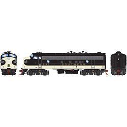 Athearn G19300 HO FP7A SOU/Black #6147J