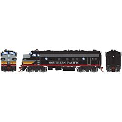Athearn G19506 HO FP7A w/DCC & Sound Southern Pacific Black Widow #6448