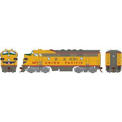 Athearn G19532 HO F7A w/DCC & Sound Union Pacific/Freight #1477