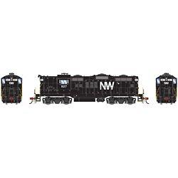 Athearn G30703 HO GP18 w/DCC & Sound Norfork & Western N&W #927