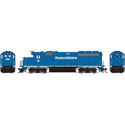 Athearn G65161 HO GP40-2 w/DCC & Sound Boston & Maine B&M #310