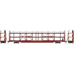 Athearn G69526 HO F89-F Tri-Level Auto Rack Denver & Rio Grande Western #910620