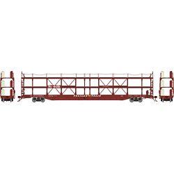 Athearn G69528 HO F89-F Tri-Level Auto Rack Denver & Rio Grande Western #910811