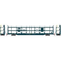 Athearn G69529 HO F89-F Tri-Level Auto Rack Wabash WAB  #911381