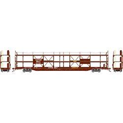 Athearn G69546 HO F89-F Tri-Level Auto Rack SSW #84682