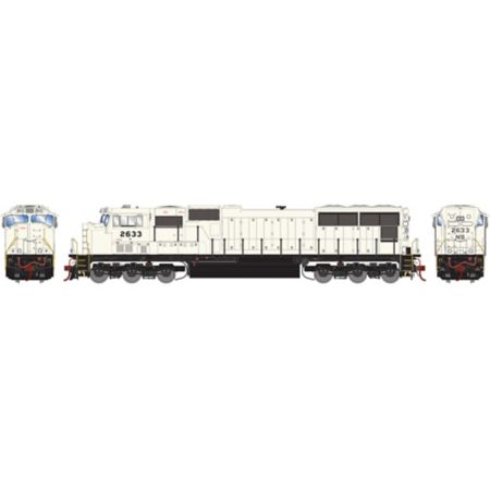 Athearn G70517 HO SD70M, NS/Flare Grey Ghost #2628 ATHG70517