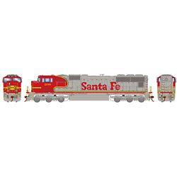 Athearn G70538 HO SD75M Santa Fe/Warbonnet #206
