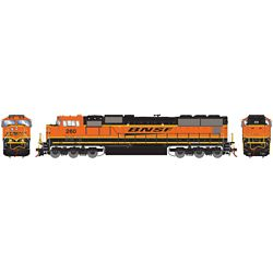 Athearn G70549 HO SD75M BNSF/Late Heritage #260