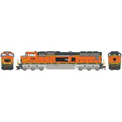 Athearn G70553 HO SD75M PRLX/ex Warbonnet #236