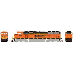 Athearn G75606 HO G2 SD60M Tri-Clops w/DCC & Sound Burlington Northern Santa Fe BNSF #9206