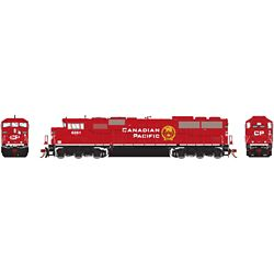 Athearn G75610 HO G2 SD60M Tri-Clops w/DCC & Sound Canadian Pacfic Railway CPR #6261