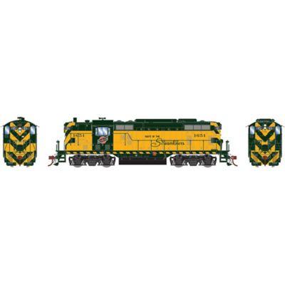 Athearn G78150 HO GP7 C&NW/Passenger #1651