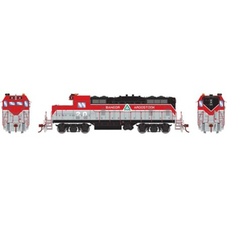 Athearn G78224 HO GP7U w/DCC & Sound, BAR #20 ATHG78224