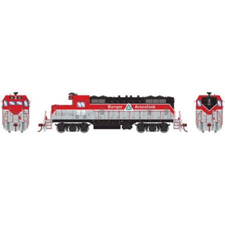 Athearn G78225 HO GP7U w/DCC & Sound, BAR #22 ATHG78225