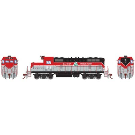 Athearn G78226 HO GP7U w/DCC & Sound, BAR #21 ATHG78226