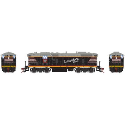 Athearn G78255 HO GP7 w/DCC & Sound Chicago Burlington & Quincy/Black #218