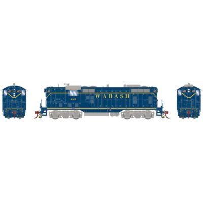 Athearn G78261 HO GP7 w/DCC & Sound Wabash/Blue #483