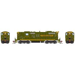 Athearn G78268 HO GP9 w/DCC & Sound GTW/Green Gold #4432