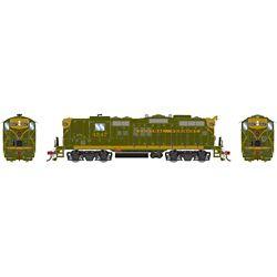 Athearn G78271 HO GP9 w/DCC & Sound CV/Green Gold #4547