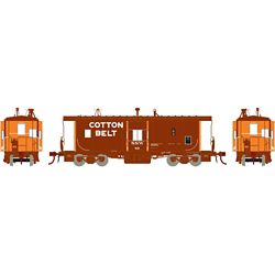Athearn G78340 HO ICC Caboose w/Lights & Sound Cotton Belt SSW #89